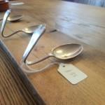 Handmade Spoon Coat Hooks