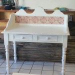 Painted Shabby Chic Wash Stand